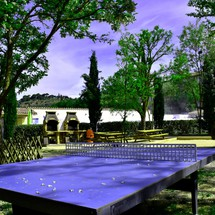 Table ping pong à camping  Riez