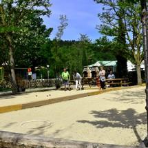 Terrain de pétanque camping Riez
