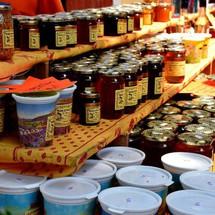 Le délicieux miel de lavande!