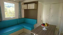 Mobil-home Bay-2 chambres-sdb-wc