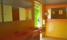 Sanitaires Camping Rose de Provence***
