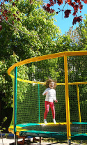 Trampoline Camping Rose de Provence***