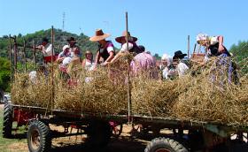 Fête du blé à Riez dans les Gorges du Verdon