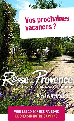 10 bonnes raisons de choisir le Camping Rose de Provence-Verdon***