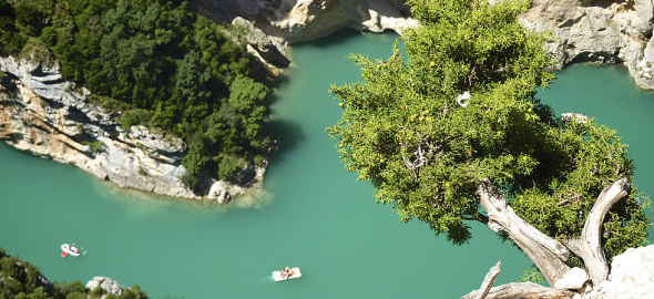 The Verdon Canyon Close To Camping Rose De Provence***
