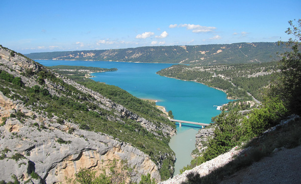 Lake of Sainte Croix