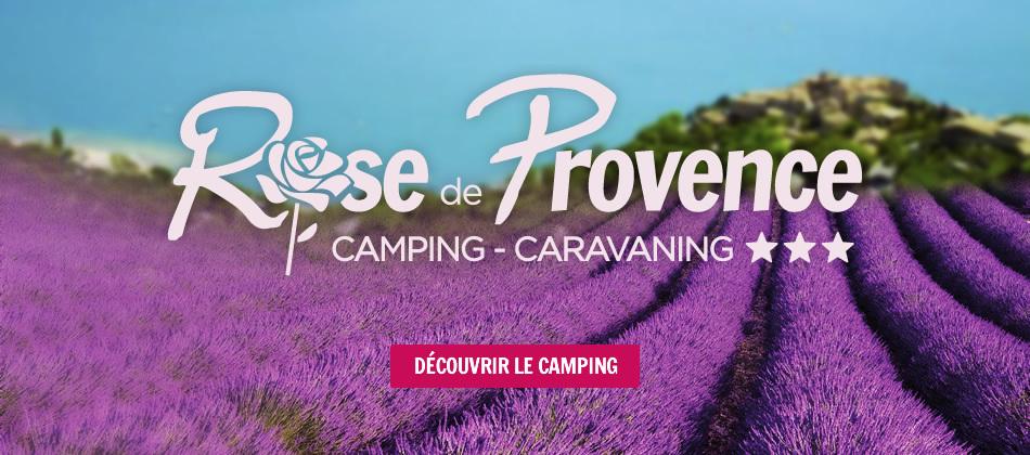 Découvrir le Camping Rose de Provence